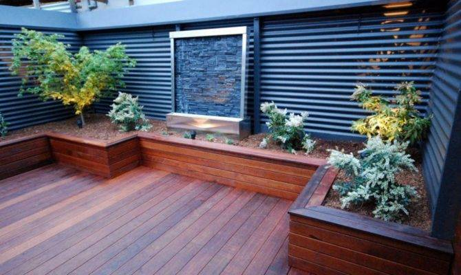 Small Backyard Decks Hot Tubs Landscaping