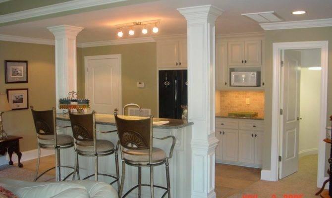 Small Basement Kitchen Decor Photos Ideas Home