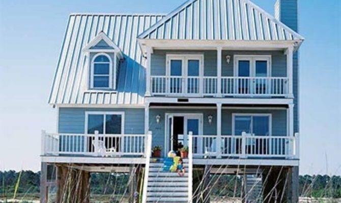 Small Beach Cottage Plans Coastal House