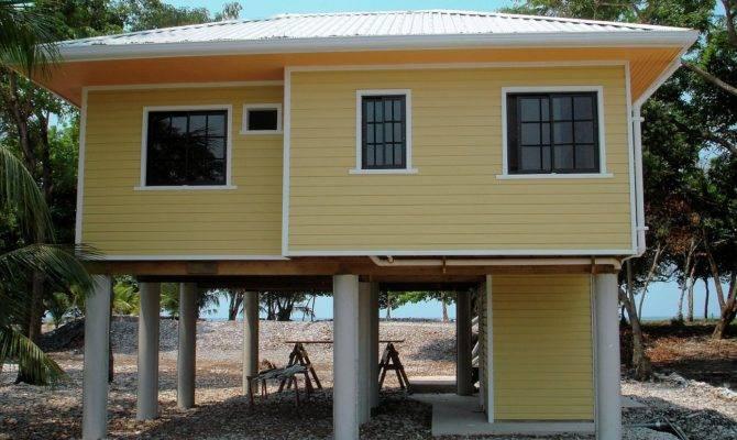 Small Beach House Caribbean Island Bliss