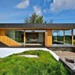 Small Beach House Contemporary Wooden Design Ideas