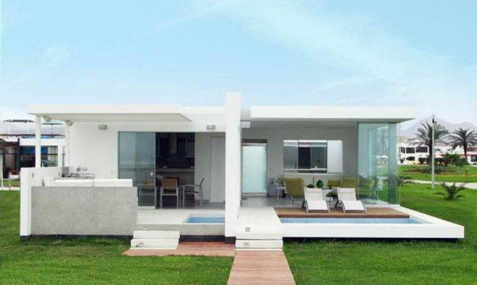 Small Beach House Designs Modern Plan