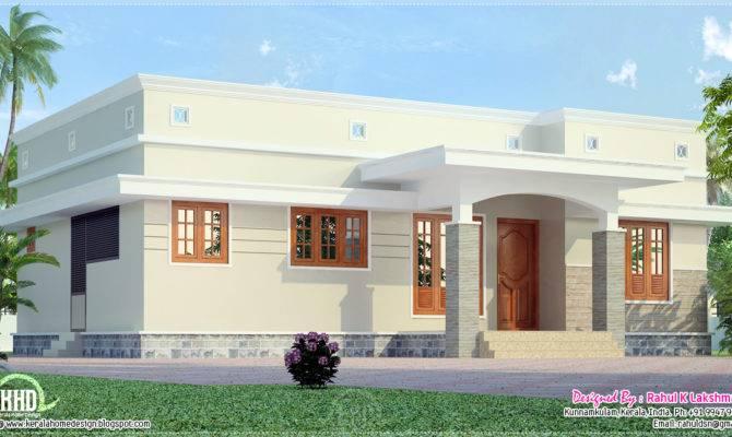 Small Budget Home Plans Design Kerala Floor Building