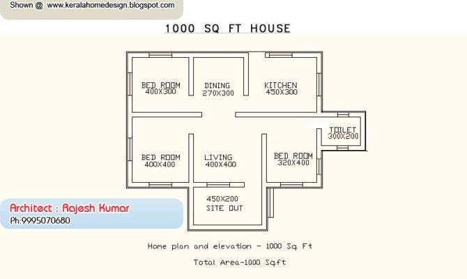 Small Budget House Home Plan Elevation