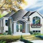 Small Bungalow European House Plans Home Design