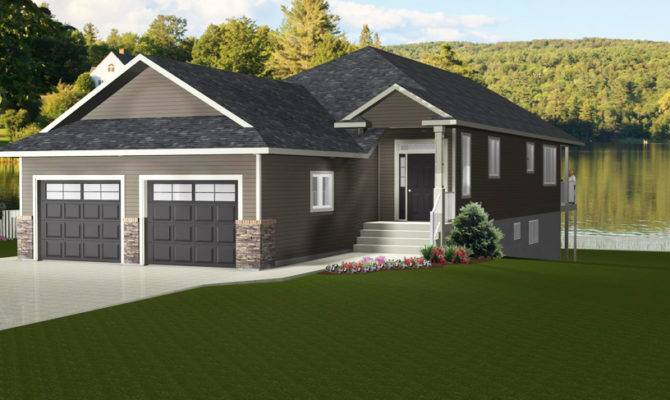 Small Bungalow House Plans Attached Garage Home