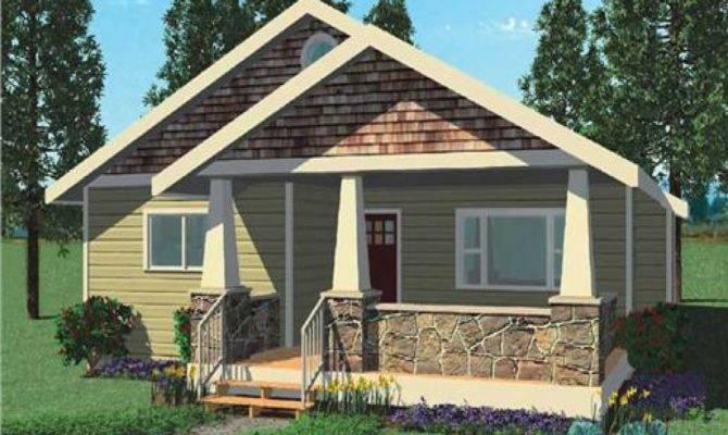 Small Bungalow Modern House Plans Plan