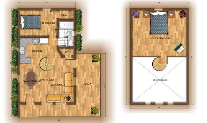 Small Cabin Bunk House Plans Plan Loft Html