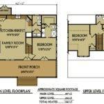 Small Cabin Floor Plan Bedroom Lake Cabins