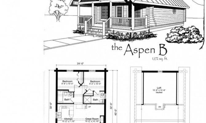 Small Cabin Floor Plans Features