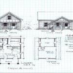 Small Cabin Floor Plans Loft Cottage