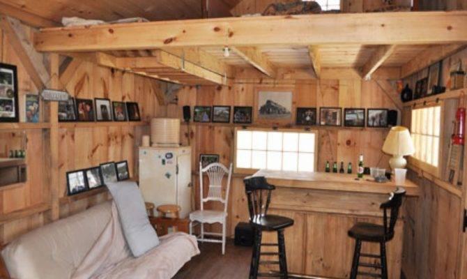 Small Cabin Furniture Inside Log Cabins