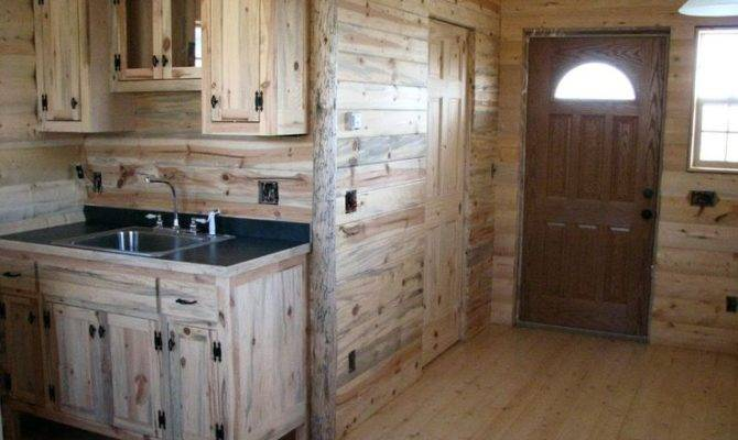 Small Cabin Interiors Western Kitchens Pinterest
