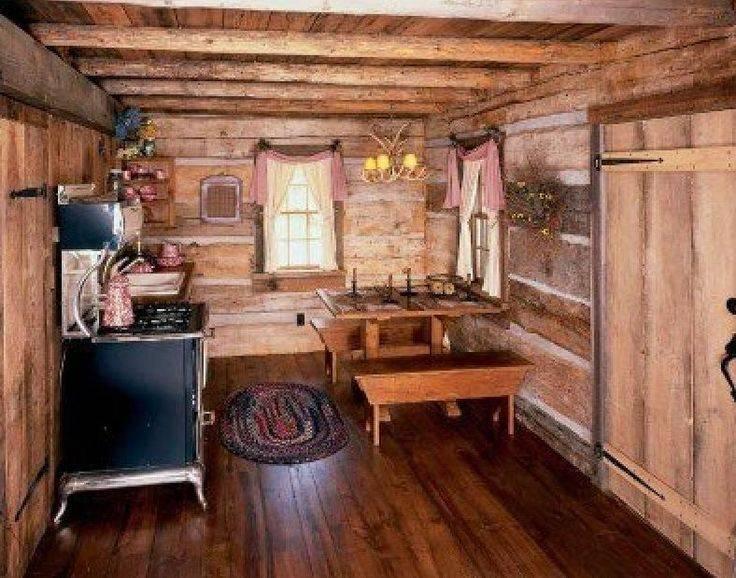 Small Cabin Kitchen Cabins Pinterest Home Plans Blueprints 42655