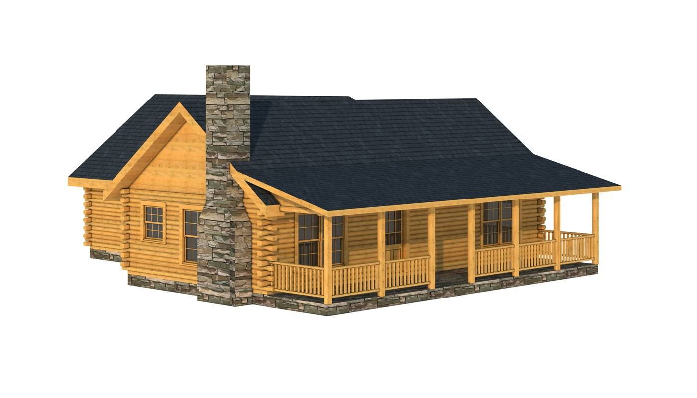 Small Cabin Plans Home Kits Southland Log Homes - Home Plans ...