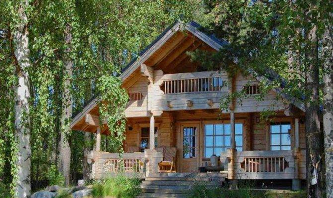 Small Cabin Plans Loft Cottage Floor