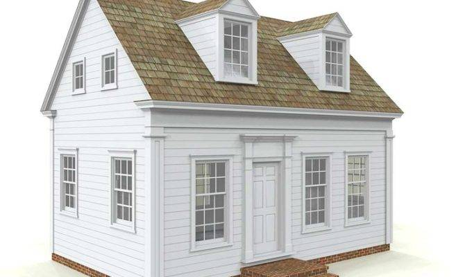 Small Cape Cod House Plans Tattoo