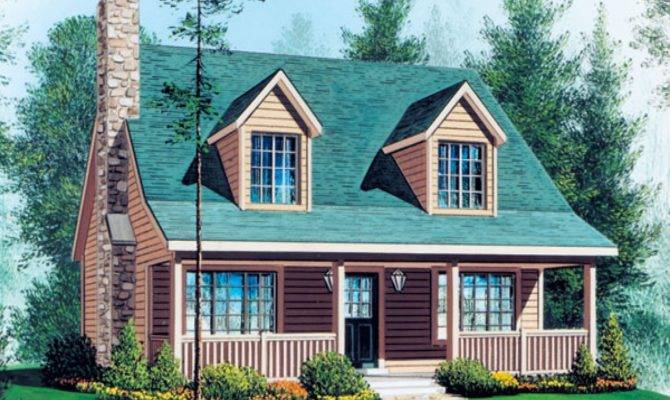 Small Cape Cod Style House Plans
