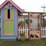 Small Chicken Coop Looking Fancy Hen House Plans