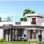 Small Contemporary Home Feet Kerala Design Floor