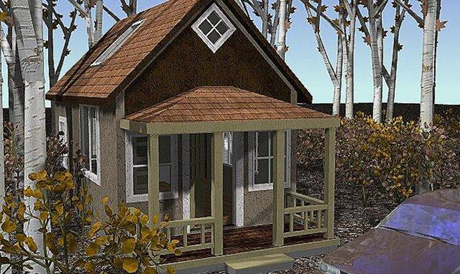 Small Cottage Cabin House Plans Kits Tiny