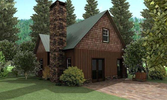 Small Cottage Design House Plan Loft