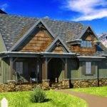 Small Cottage House Plan Walkout Basement Work