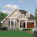 Small Cottage Plan Vaulted Ceilings