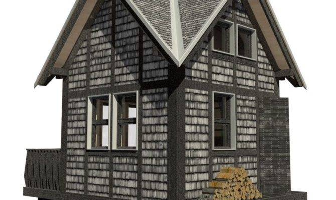 Small Cottage Plans Loft Porch