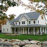 Small Country House Plans Wrap Around Porches