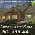Small Craftsman Cabin House Plan Study Baths Story