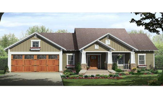 Small Craftsman Home House Plans