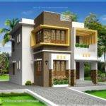 Small Double Storied Contemporary House Design Indian Plans