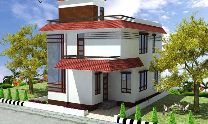 Small Duplex House Model Joy Studio Design Best