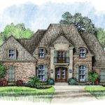 Small French Provincial House Plans Lafayette Country