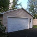 Small Garage Doors Double Car Single Door Allowing