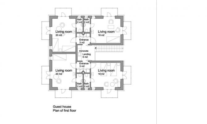 Small Guest House Floor Plans