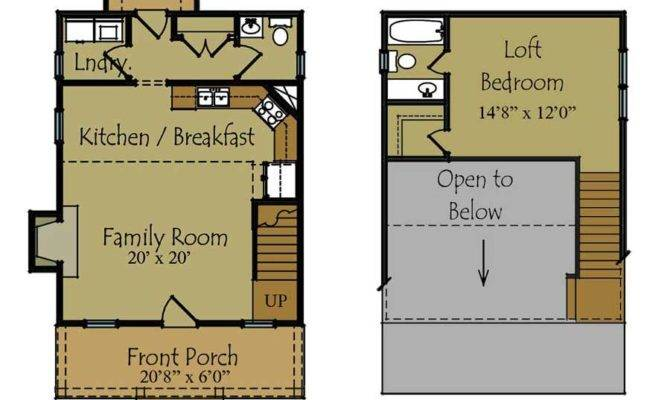 Small Guest House Plan Floor