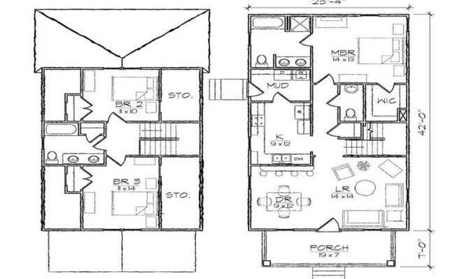 Small Homes Floor Modern Plans Houses