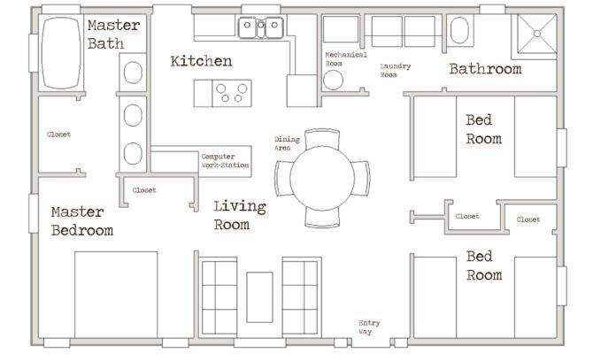 Small House Cozy Three Bed Room Home