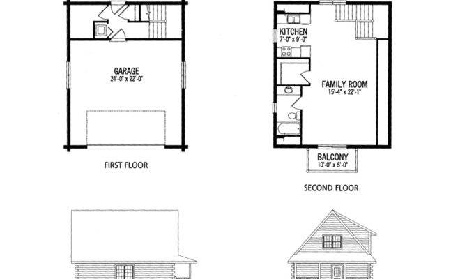 Small House Floor Plans Loft Cottage