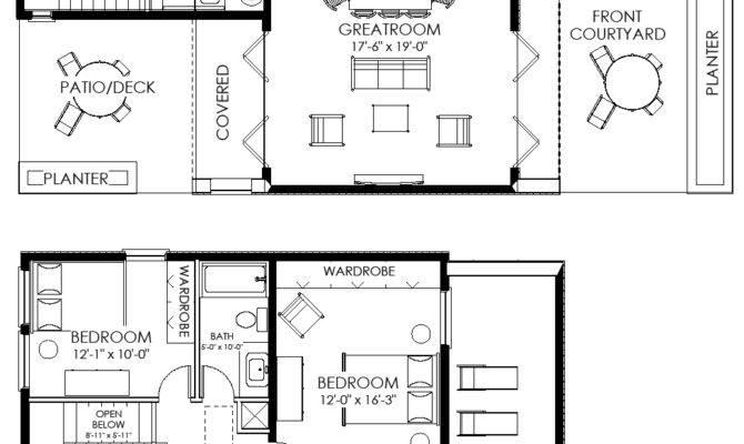 Small House Plan Contemporary Modern