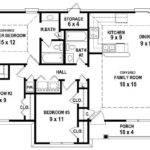 Small House Plans Bedroom Bathroom