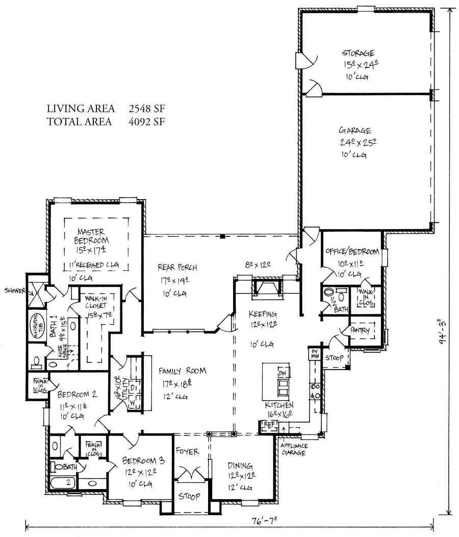 Small House Plans Jack Jill Bathroom Home Plans Blueprints 116816