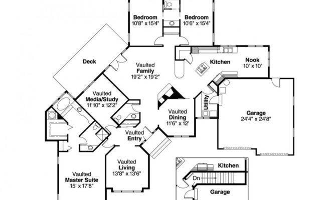 Small House Plans Large Kitchens Formal Dining Room