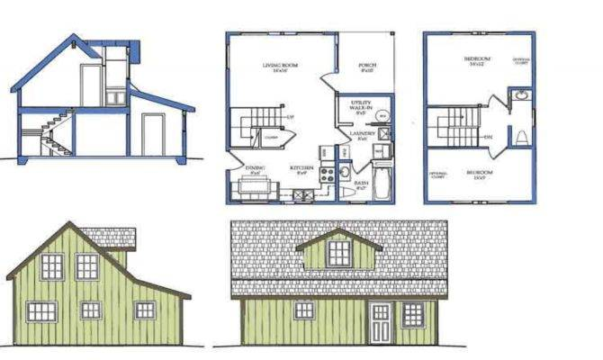 Small House Plans Open Floor Plan