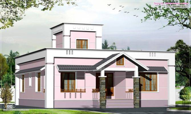 Small House Plans Under Kerala Style