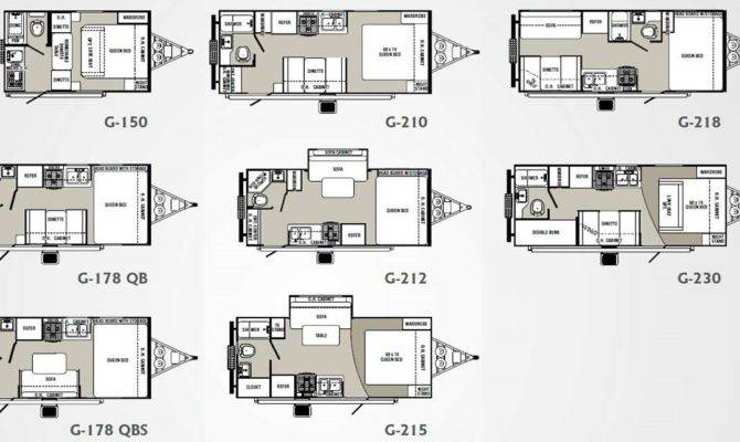 Small House Trailer Floor Plans Palomino Gazelle Travel