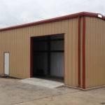 Small Industrial Metal Buildings Steel Car Garage Building Kits