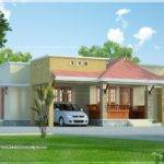 Small Kerala Style Beautiful House Rendering Home Design